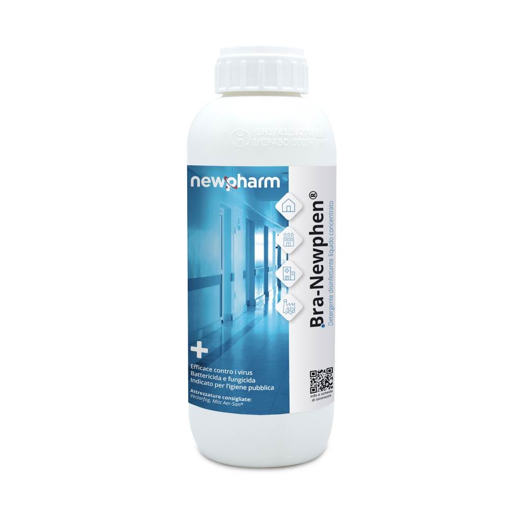 BRA-NEWPHEN - Detergente disinfettante battericida, fungicida e virucida.